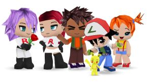 Pokemon Buddypoke by Ben2DJammin