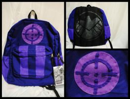 Avengers Hawkeye Minimalist Backpack by rickardshater