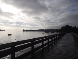 Sooke pier by DannoMighty7