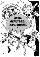 Space Realtors - Concept art by mikedaws