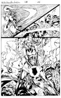 Miss Marvel 28 Pg 21 Inks by Mariah-Benes
