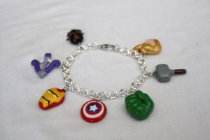 Marvel Avengers bracelet by LittleLoveInc