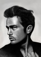 James Dean by CandyMilla