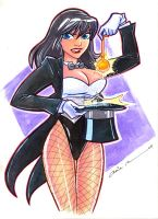 Zatanna colors by mainasha