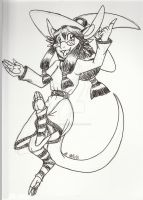 Inktober 2- Eliza by Inkblot-Rabbit