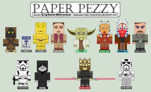 Paper Pezzy - Star Wars by CyberDrone