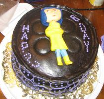 Coraline Cake 2 by hsawaknow