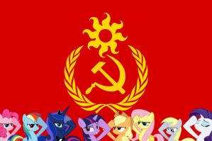 Union of Soviet Socialist Ponies by thefieldsofice