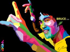 Bruce in Wpap by uppi420