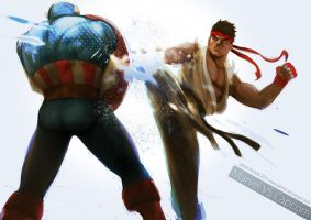 Marvel vs Capcom by jaimito
