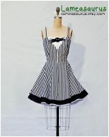 Jack Skellington Dress NMBC by Lameasaurus-etsy