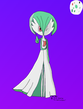 An obligatory Gardevoir by Tazamo-Arkazi