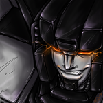 TF - Skywarp FACE by BLACK-HEART-SPIRAL