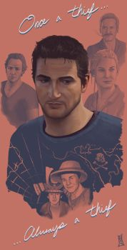 Once A Thief... (Uncharted 4) by CODE-umb87