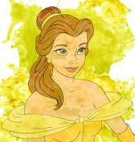 Belle Watercolor by jmascia