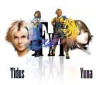 Tidus... Yuna... what else? XD by Ashaska