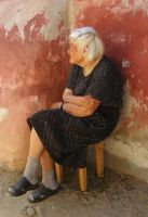 Old lady by 7DS7