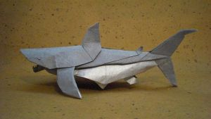 Great White Shark-Trollip by origami-artist-galen