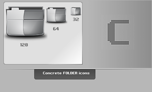 Concrete.Folder.Icons by thibaut28