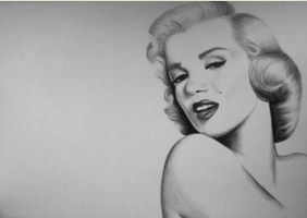 Marilyn Monroe by DominiqueKirkby