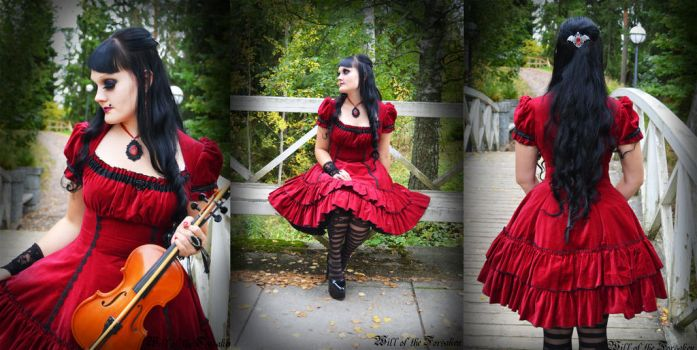 Gothic Lolita Dress by Ventovir