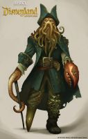 Kinect Disneyland Adventures - Davy Jones by shoomlah