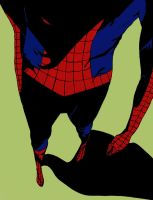 Spidey Doin the ... with color by mf-jeff