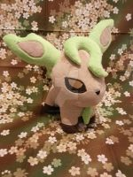 Leafeon by inaligrimalkin