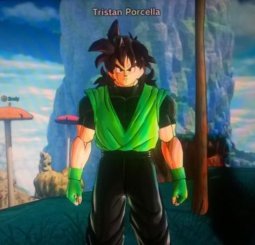 My Dragon Ball Xenoverse 2 OC 5 by tristananimation