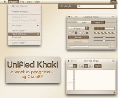 Unified Khaki Guikit Mockup by ctro82