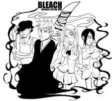 BLEACH by dr-runcible