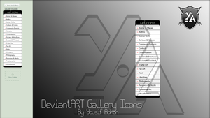 DeviantART Gallery Icons by Th3EmOo