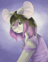 Updated hair by mouseymachinations