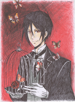 Butterfly Butler by blackCRYSTALeyes
