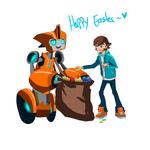.:Happy Easter 2015:. by JACKSPICERCHASE