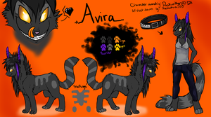 Avira Ref Sheet Commission by MystikMeep