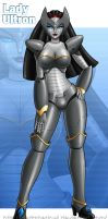 COMMISSION - Lady Ultron by IDarkShadowI