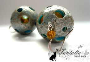 Earrings 'Lunar' by Tantalia