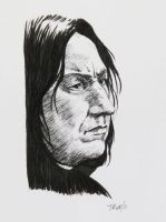 Snape for Demicus by tripperfunster