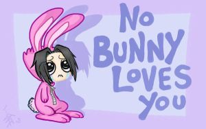 No Bunny Loves Sasuke by nocturnalMoTH