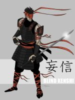 Warrior Kenshi by darknight7