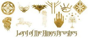 Lord of the Rings Brushes by khallandra-stock