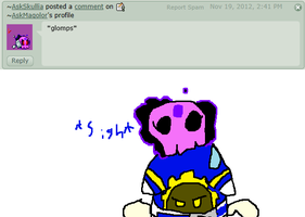 Comment 1 glomped by AskMagolor