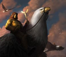 Eagle Riders by Rosolino