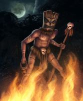 Tribal Witch Doctor by PrimalClone