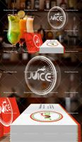 Juice PSD Business Card Mockup Template FREE Previ by DesignsCanyon