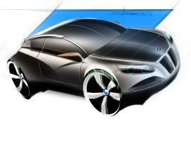 bmw 502 crossover coupe by p-sketch