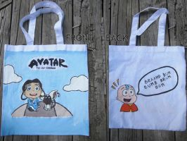 Avatar Chibi Tote: Momo Speak by khichuri88