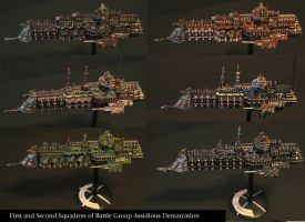 Imperial Cruisers by JDAtrocityExhibition