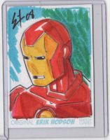 Iron Man sketch card by ErikHodson